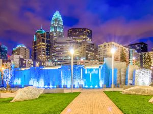 Downtown de Charlotte, North Carolina